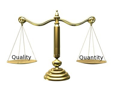 an analysis of the topic of the quality versus quantity Difference between qualitative and quantitative research in data collection, online surveys, paper surveys, quantifiable research, and quantifiable data difference between qualitative and quantitative research in data collection, online surveys, paper surveys, quantifiable research, and quantifiable data  quality and quantity procedures.